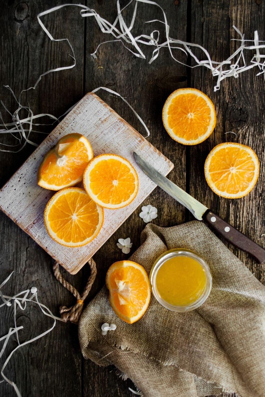 Идеи фото с фруктами апельсин