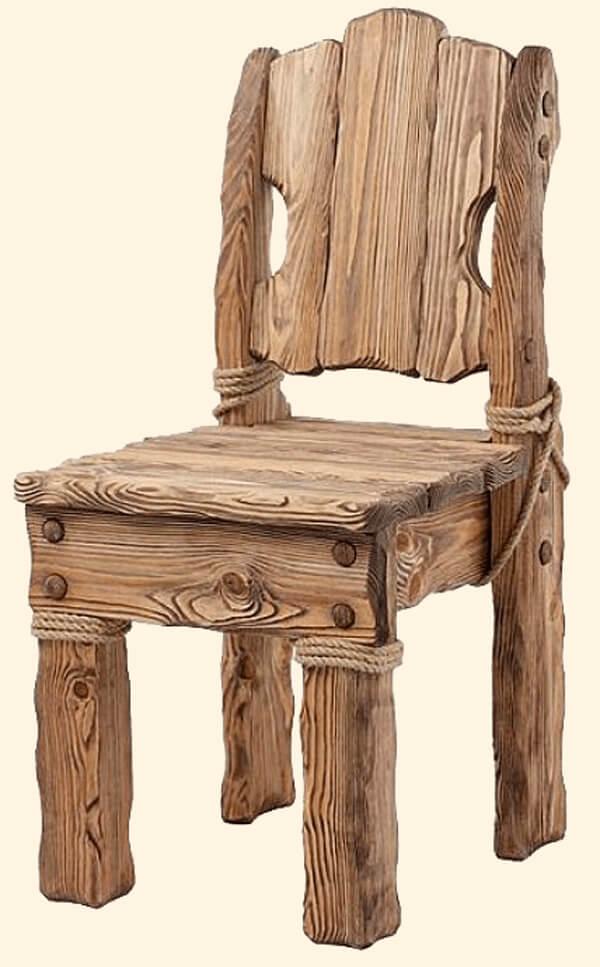 стул из дерева под старину картинки собрании