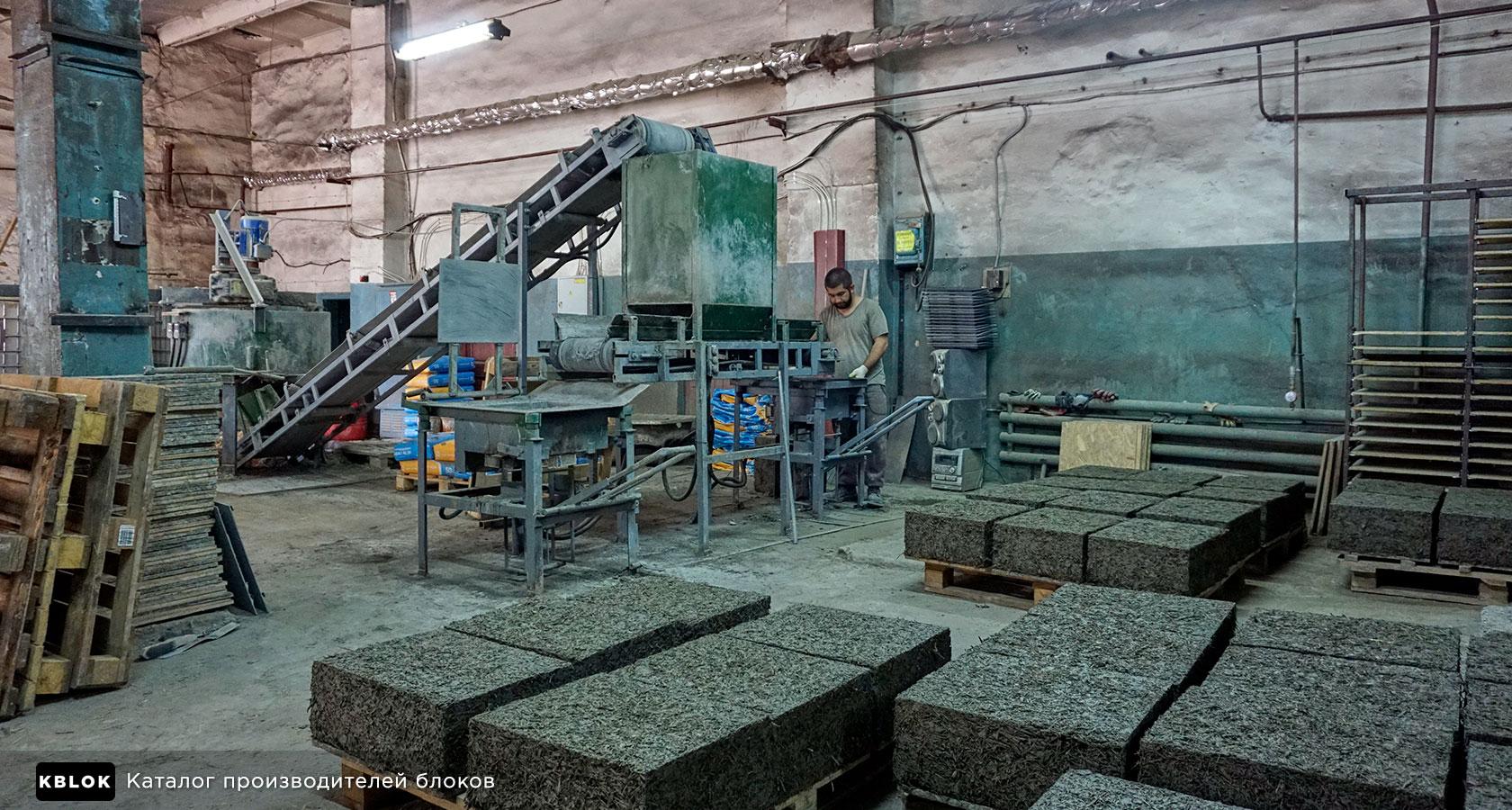 линия Арболит-2 Воскресенского завода бетоносмесительного оборудования