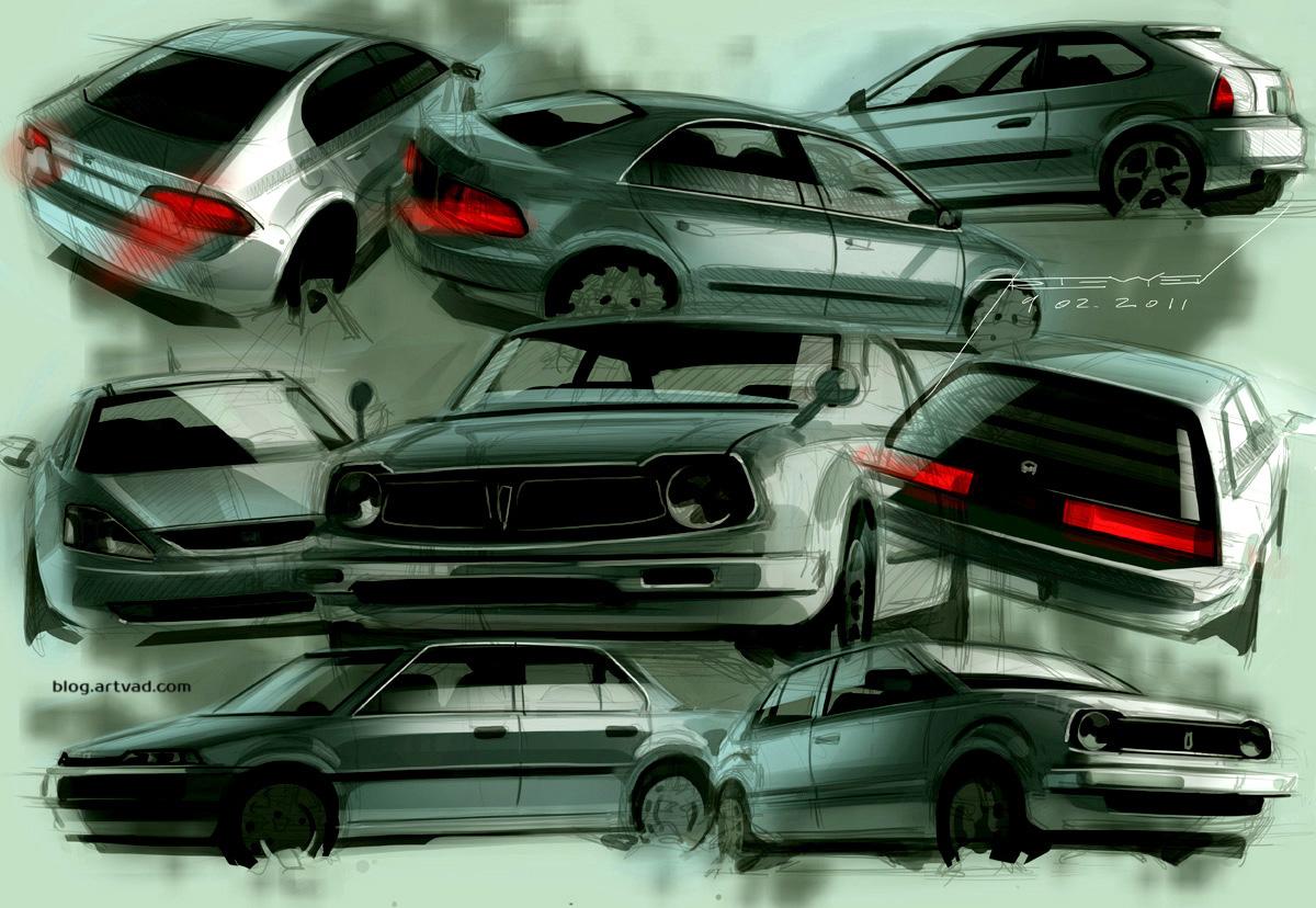 Honda Civic: gen1 – gen8