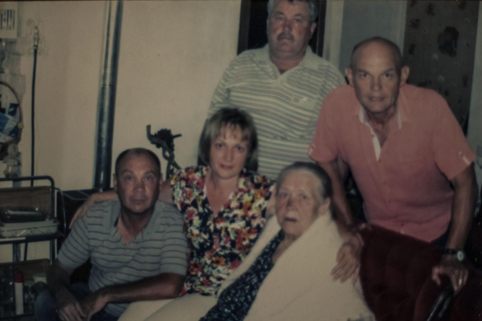 Աննա Կուդրյաշովան ընտանիքի հետ