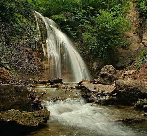 Водопады и источники