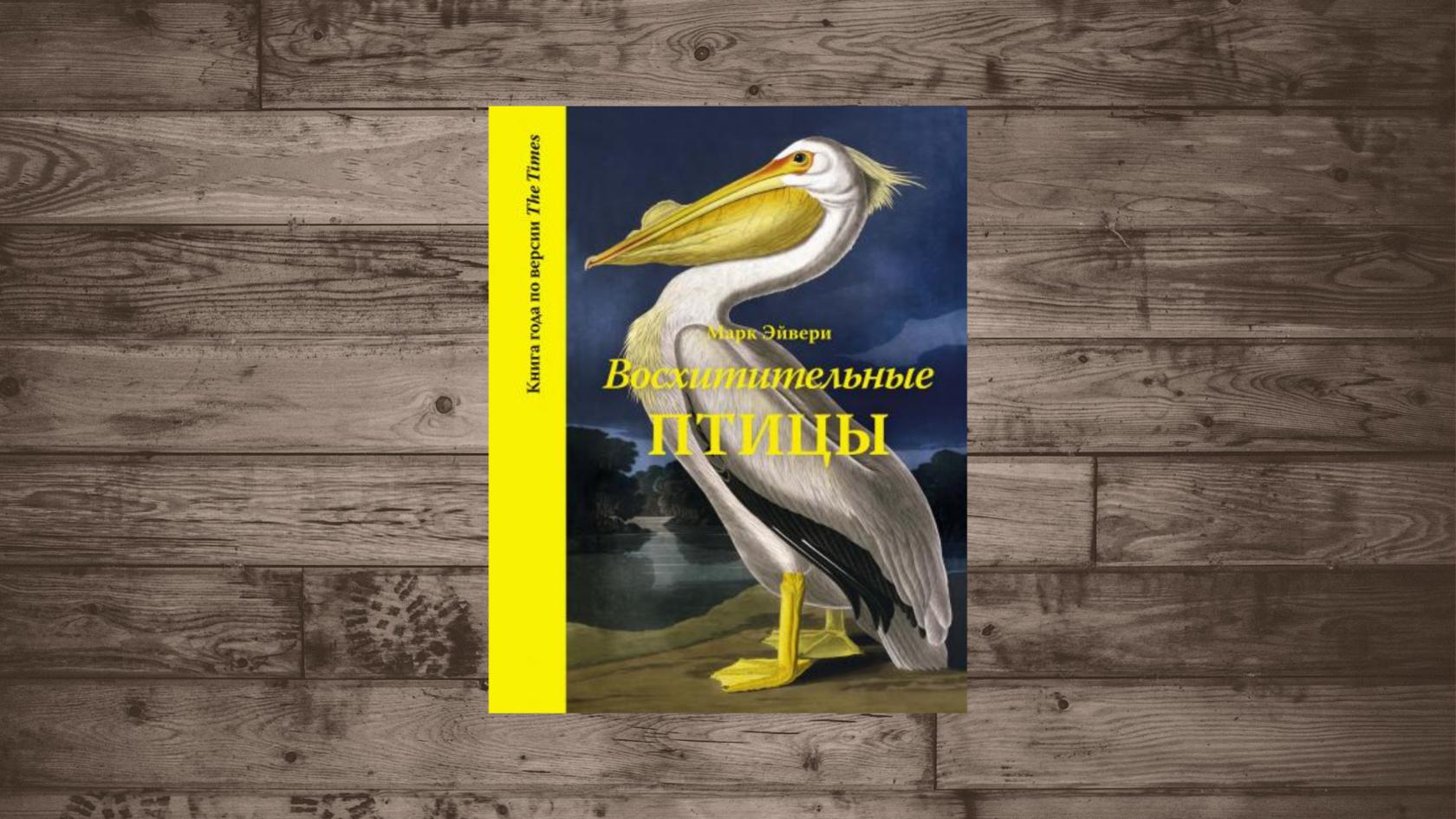Купить Марк Эйвери «Восхитительные птицы», Азбука, 978-5-389-13808-7