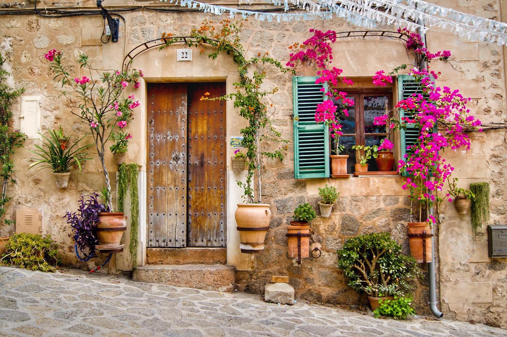 фото французских двориков если хотите творить