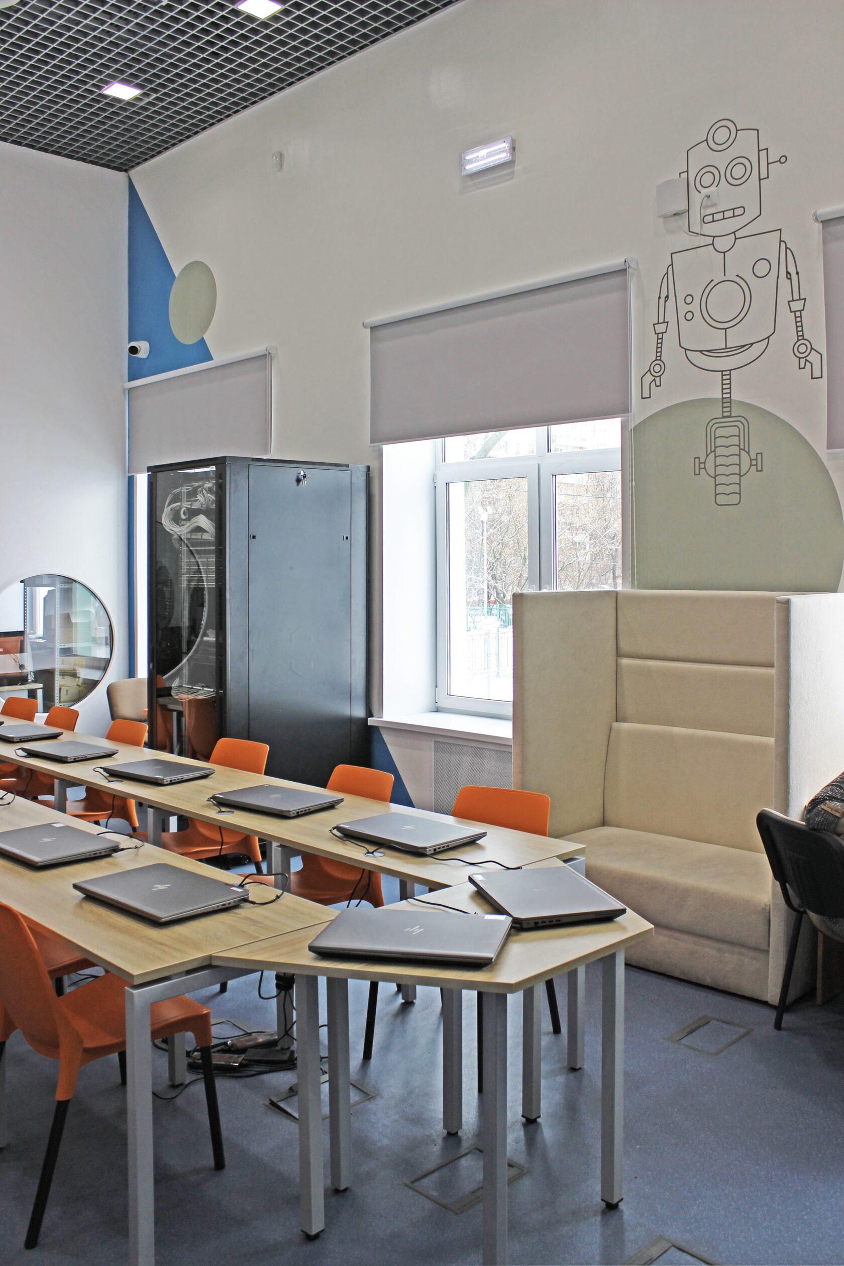 кабинет информатики в школе дизайн