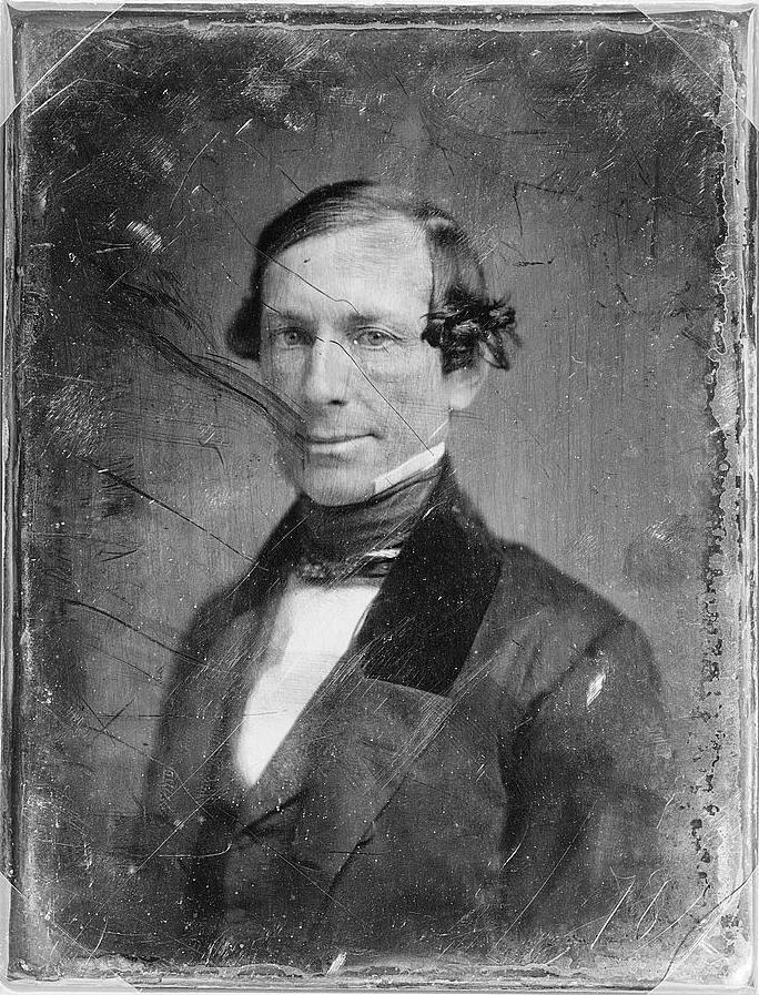 Уильям Р. Кинг, сенатор от штата Алабама с 1848 по 1852.
