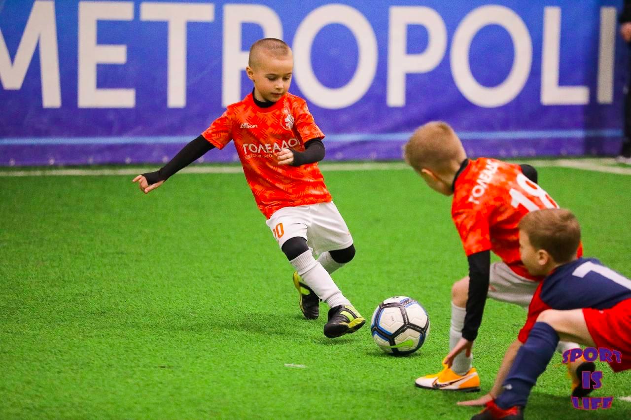 Один из матчей футбольного турнира Sport Is Live СПб 2021