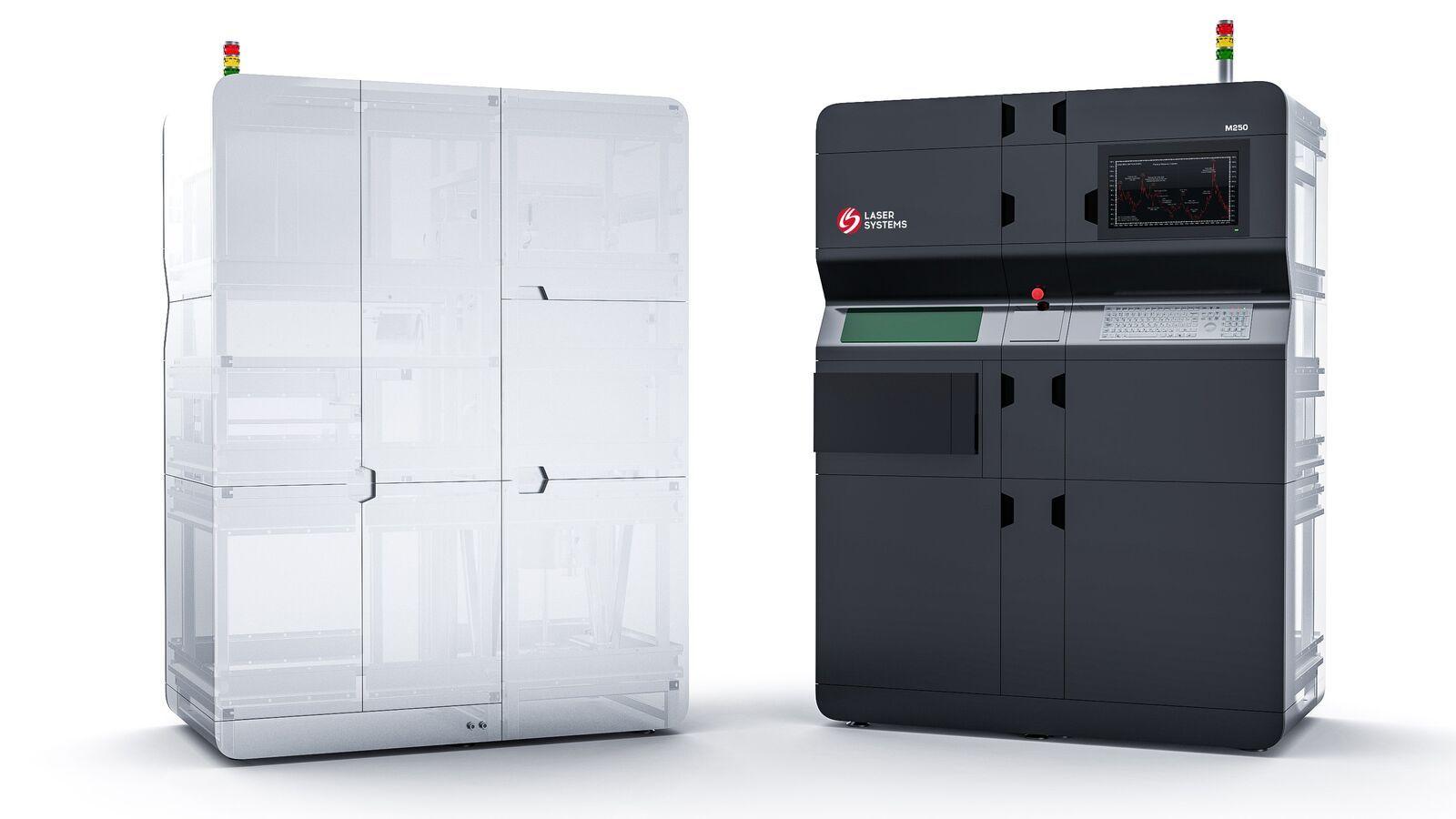 Установка селективного лазерного сплавления Laser Systems М250. Дизайн и эргономика — Формлаб