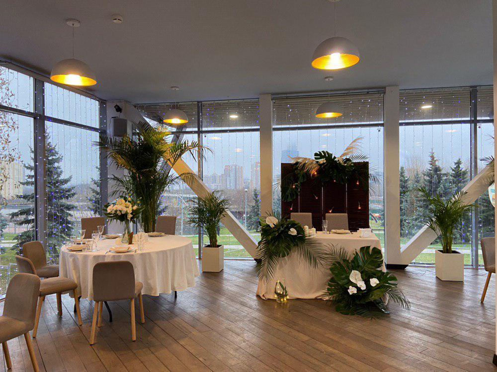 Оформление свадьбы в тропическом стиле. Фото 1