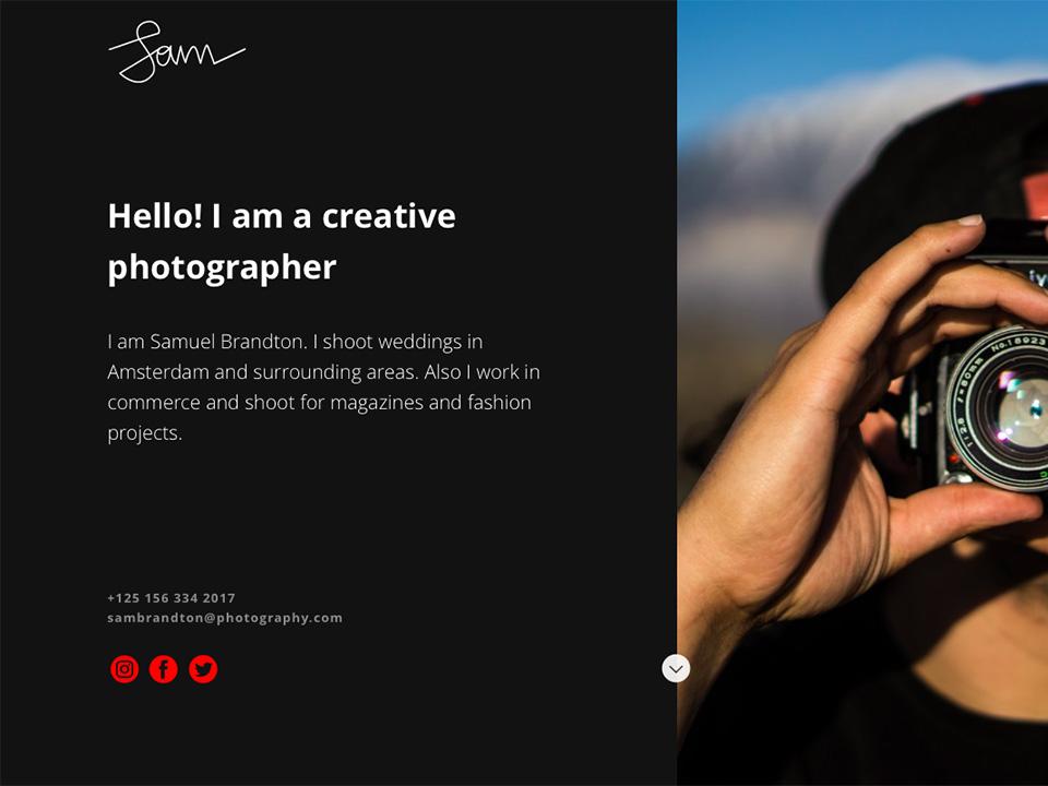 Создании сайтов для фотографов flash программы для создания сайта