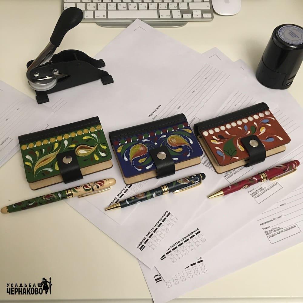 подарочные ручки, визитки