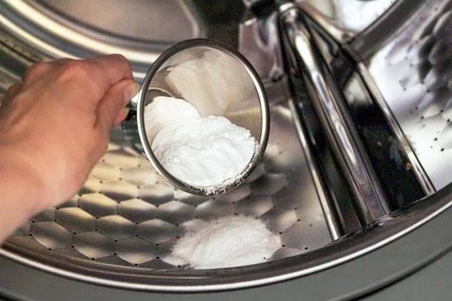 Чистка стиральной машины от накипи лимонной кислотой