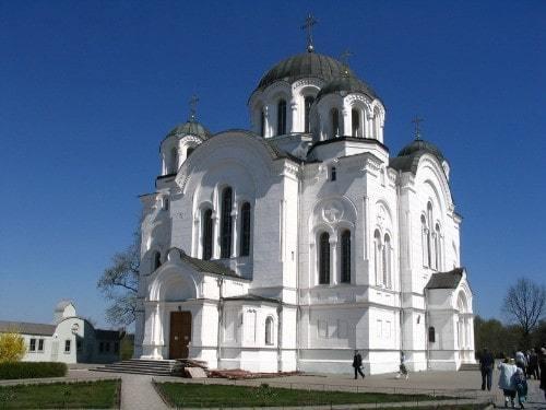Крестовоздвиженский собор. Полоцкий Спасо-Евфросиньевский женский монастырь.
