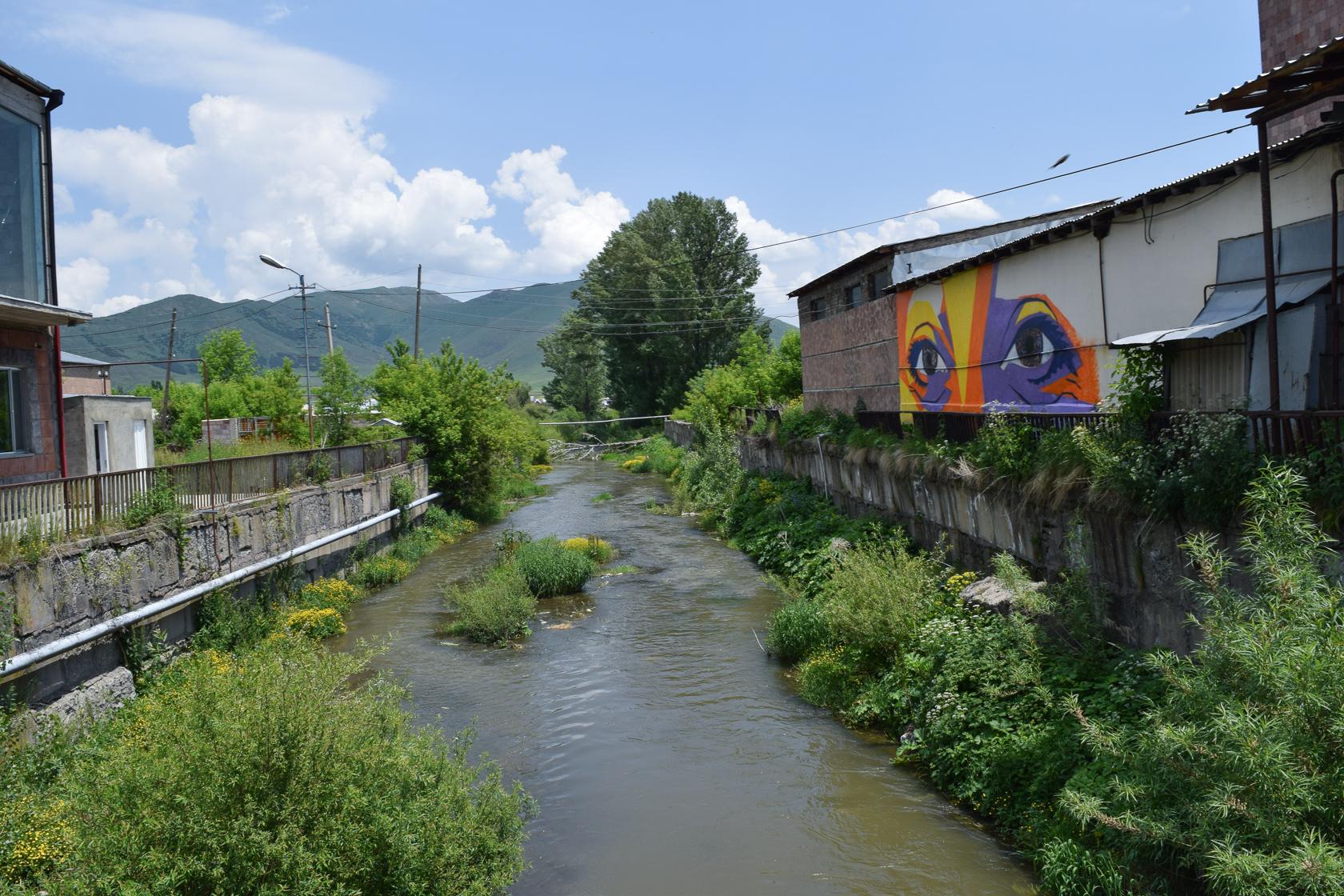 Ուրբանիստա, Ապարան, սթրիթ արտ, Aparan, street art, Armenia