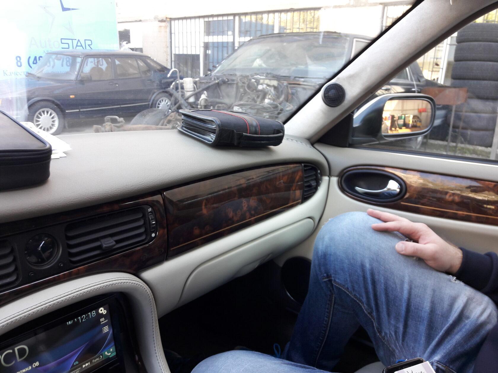 установка автозвука Jaguar