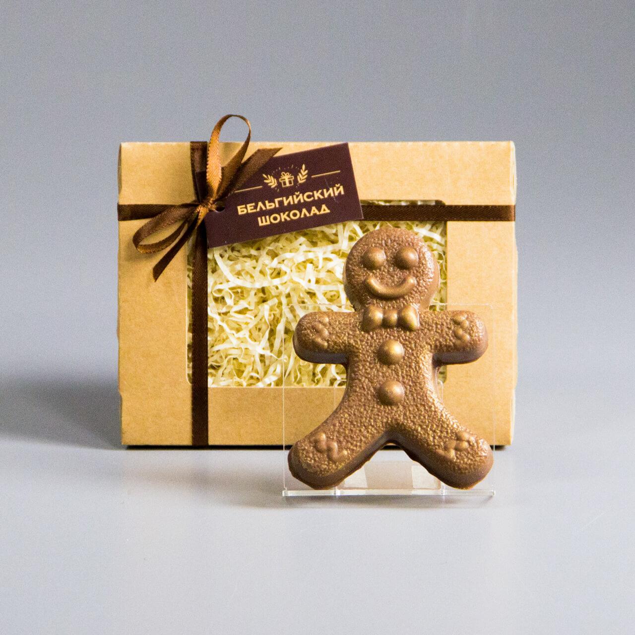 Шоколадная фигурка «Пряничный мальчик»