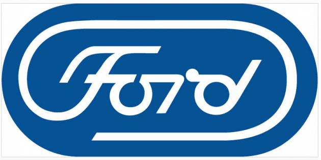 Логотип для «Форд» разработанный в 1966 году