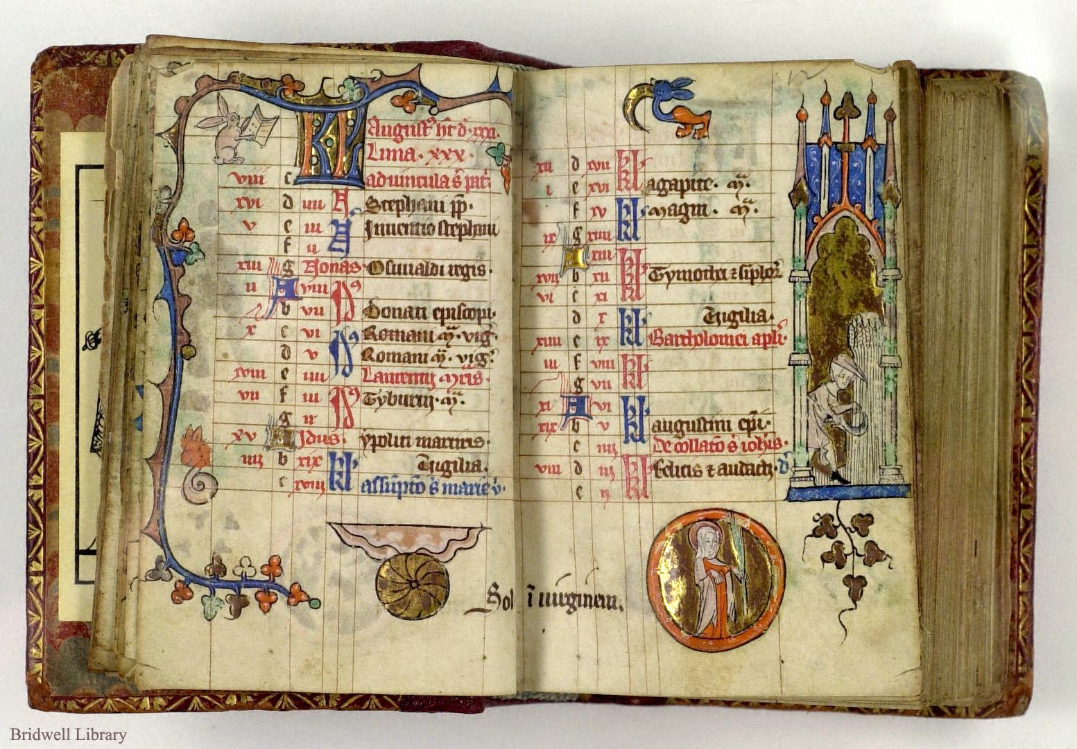 книги средневековья с картинками