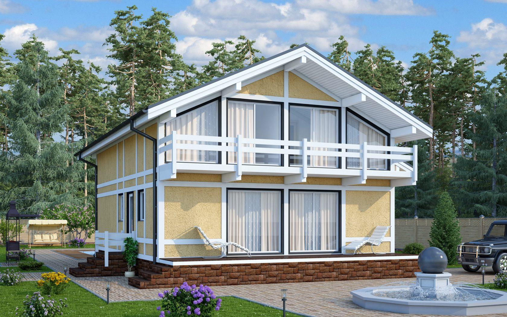земледельческих фото домов с балконами полфасада имеет электрического