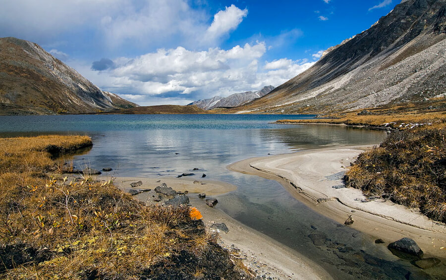 Озеро в Тажеранской степи