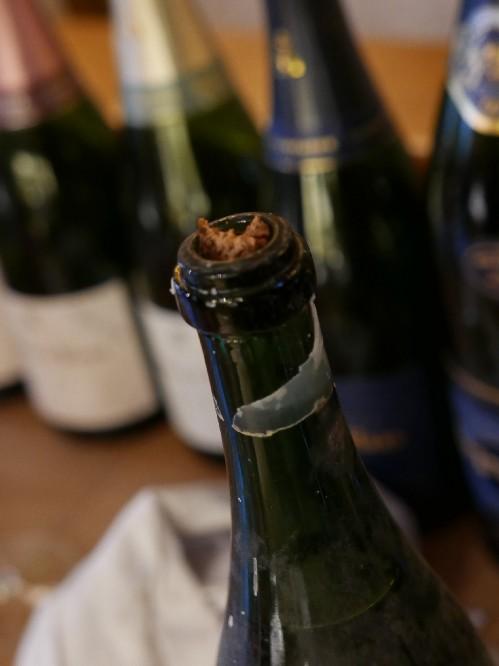 Champagne Legras & Haas 1959 cork
