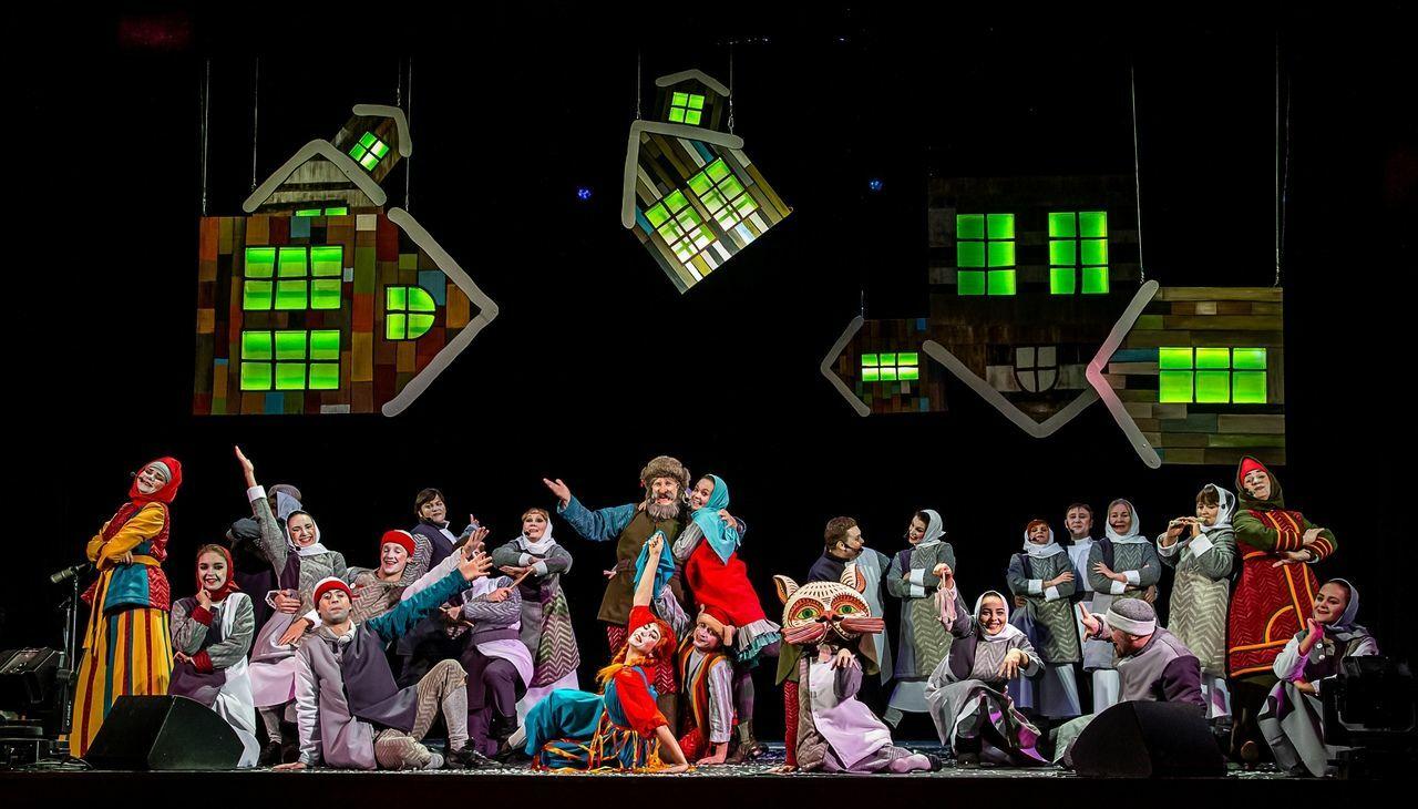 «Серебряное копытце», Новоуральский Театр музыки, драмы и комедии