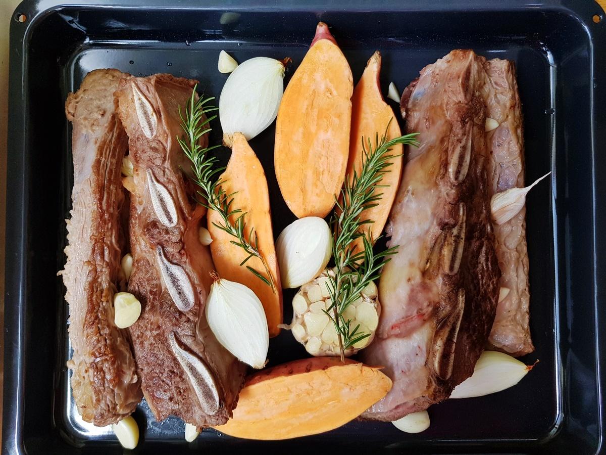 Рецепт говядины (асадо) в духовке в красном вине. Вкусный Израиль.