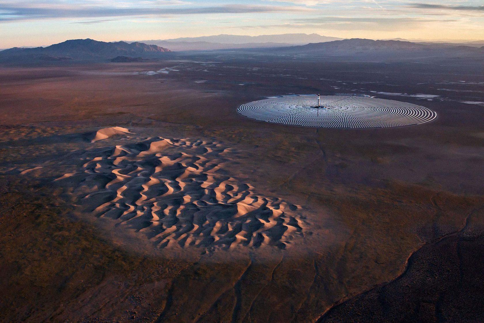 Закрытие солнечной электростанция Crescent Dunes стоимостью $ 1 миллиард