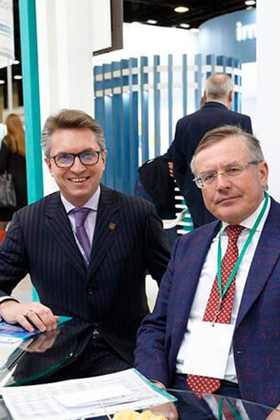 фармацевтическая выставка IPhEb стенд фармацевтического кластера Санкт-Петербурга