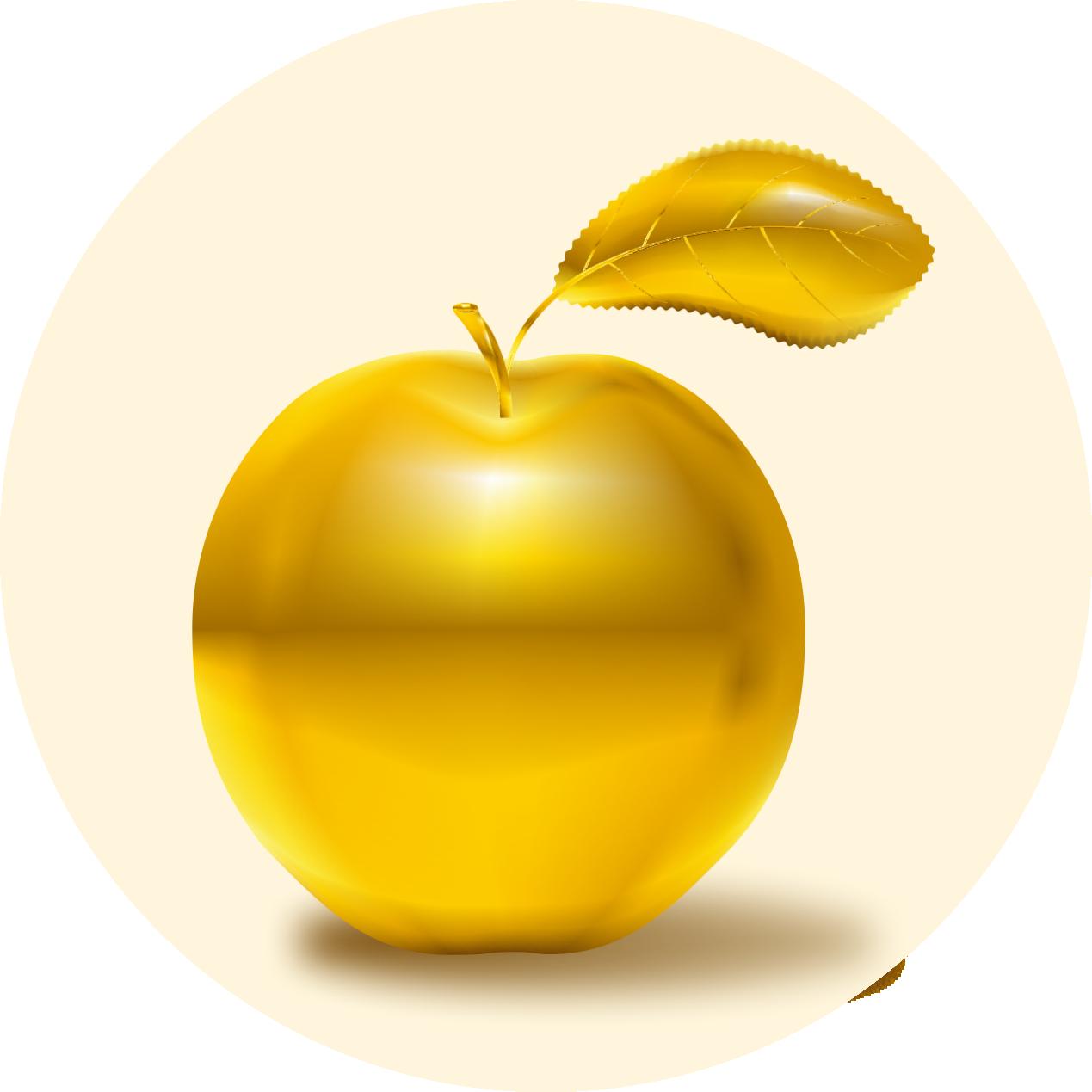 Картинки, золотые яблоки картинки