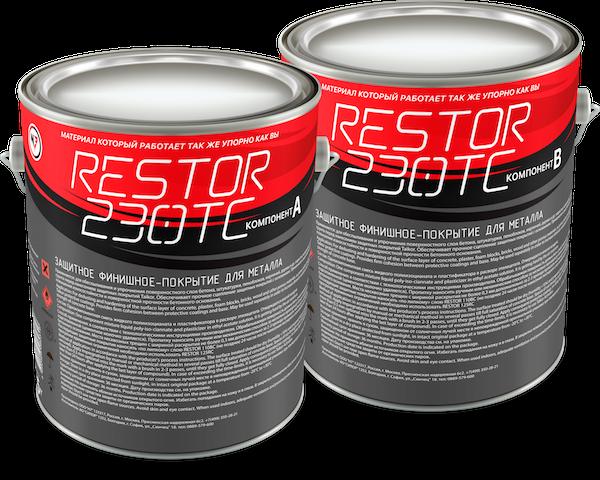 RESTOR 230TC Защитное финишное покрытие для металла