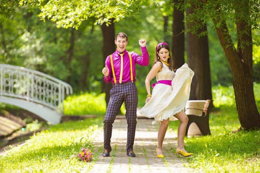 Свадьба в стиле стилляги