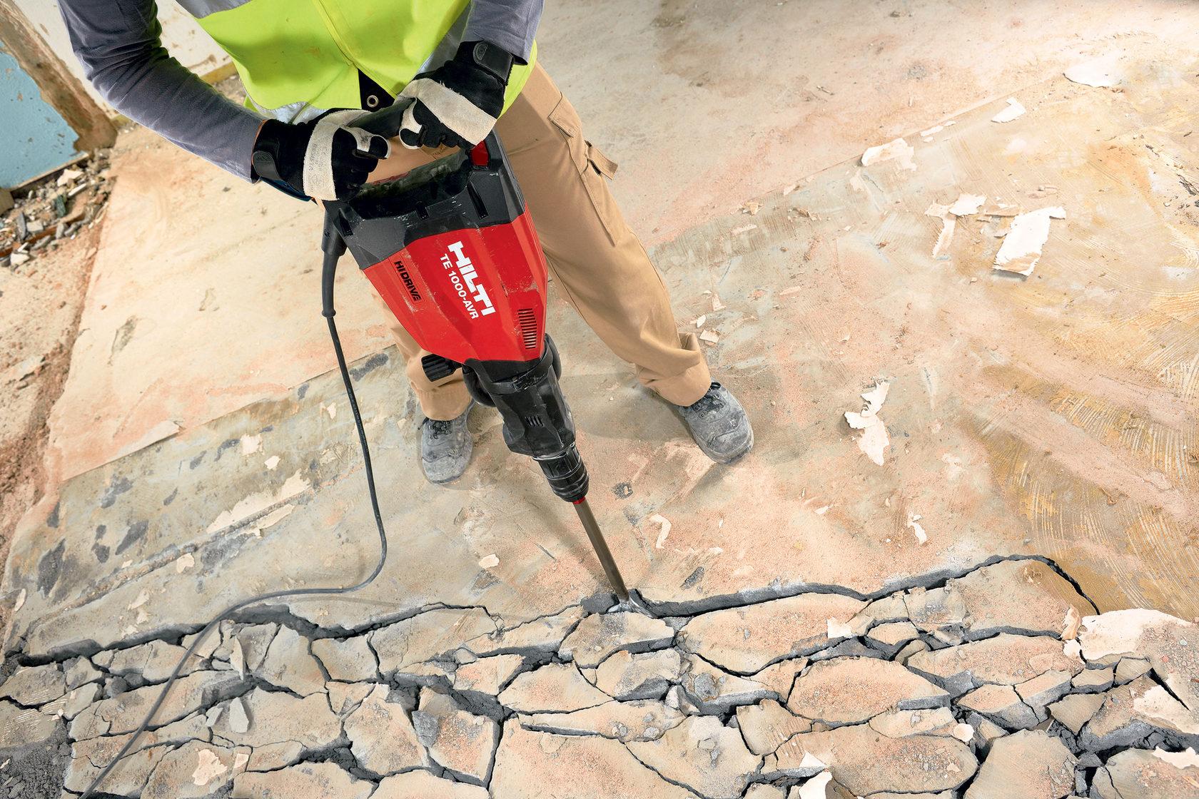 демонтаж бетонных