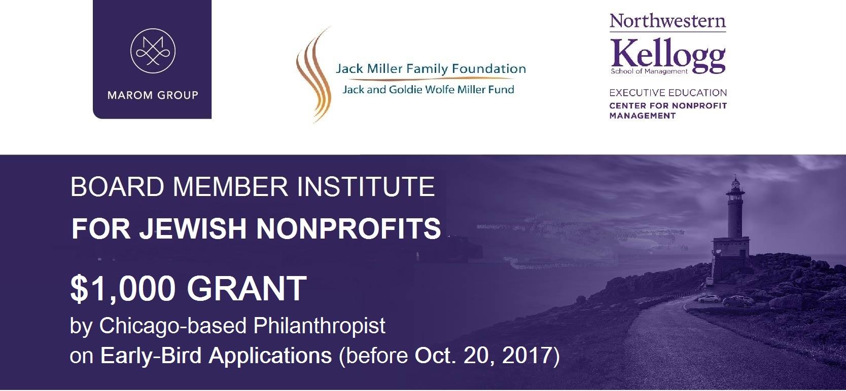 Board Member Institute For Jewish Nonprofits