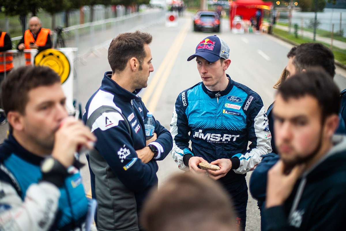Руководитель M-Sport Ford WRT Ричард Милленер и Элфин Эванс, ралли Аргентина 2019