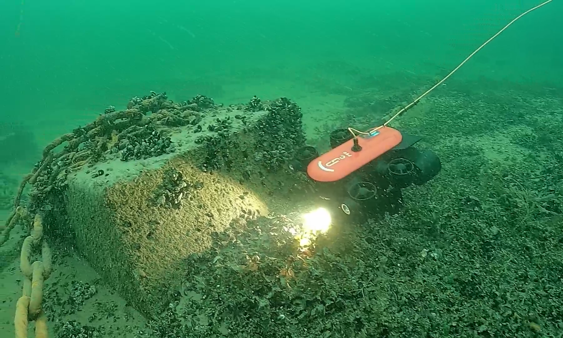 GT1 mini ROV, Undervattensdrönare