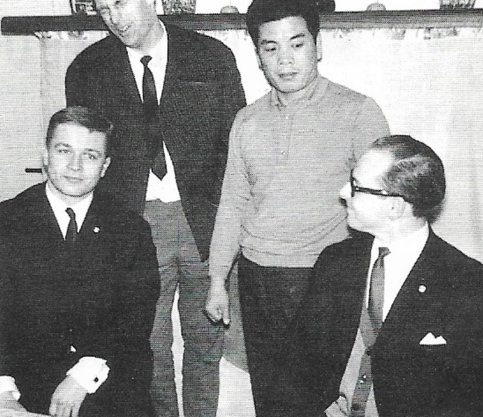 Jan Kallenbach and Kenji Kurosaki