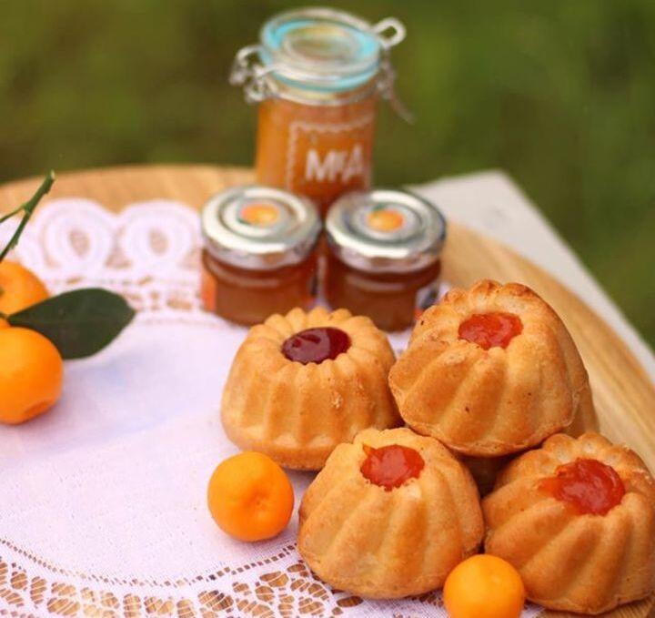 мафін , кекс , кондитерські вироби Рівне , джем Рівне , мед , мандарини фото