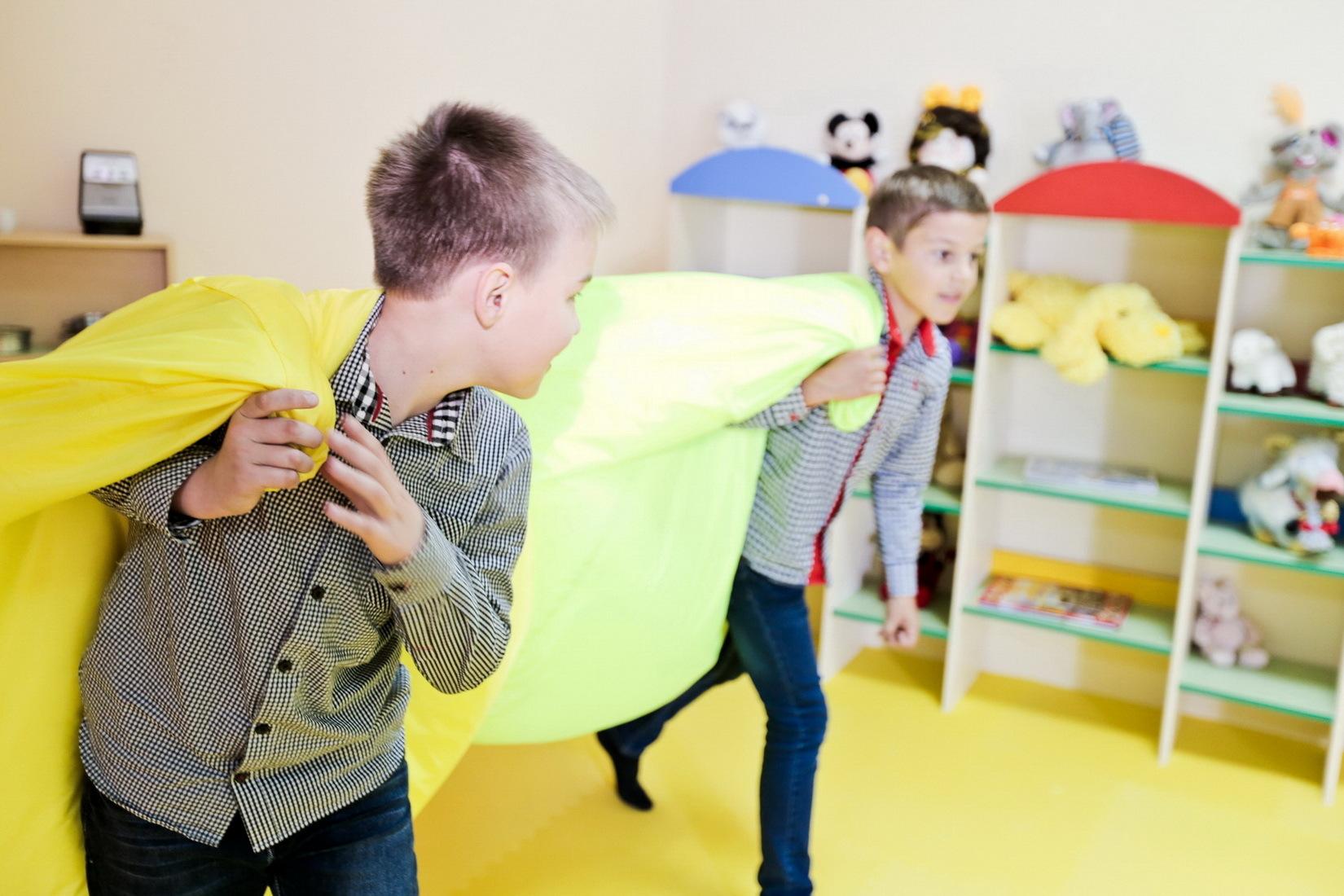 Детская игровая зона в отеле Марсель