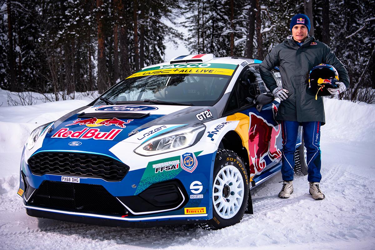 Адриен Фурмо, Ford Fiesta Rally2, тесты в Рованиеми