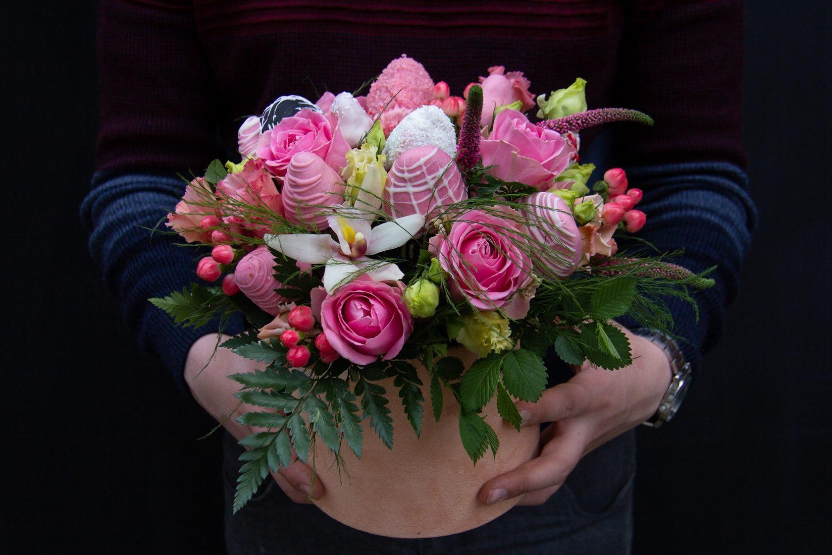 Букет цветов в новосибирске с доставкой киев