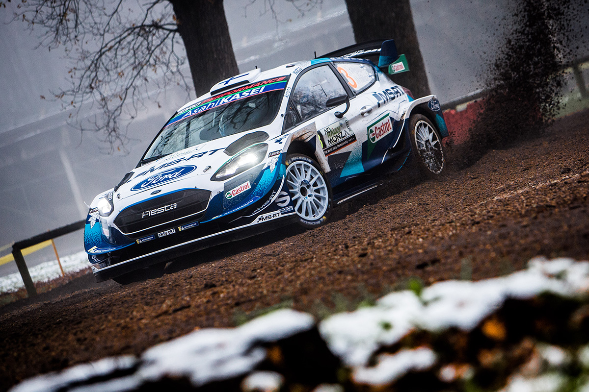 Теему Сунинен и Ярмо Лехтинен, Ford Fiesta WRC, ралли Монца 2020