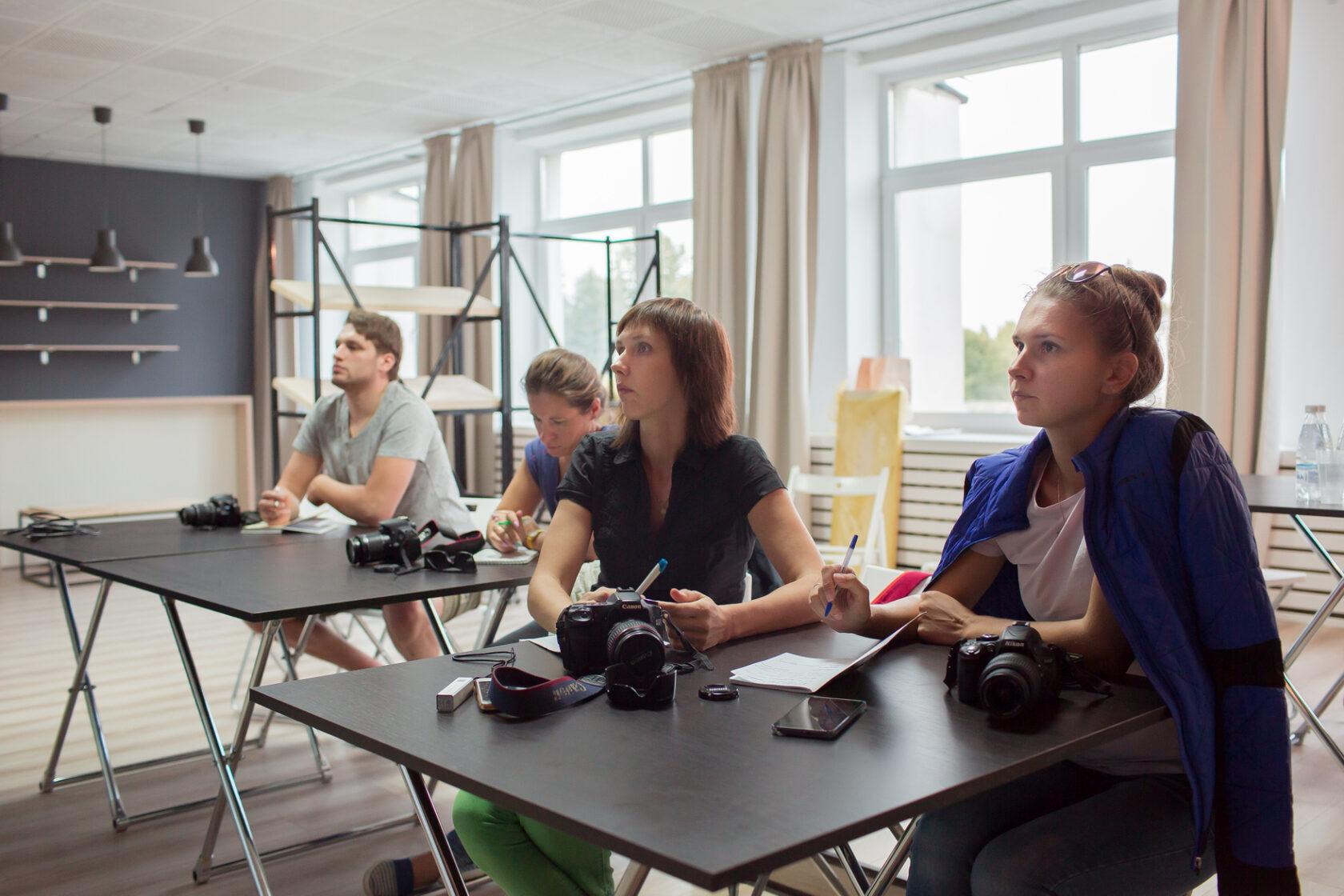 Оффлайн курсы по основам фотографии