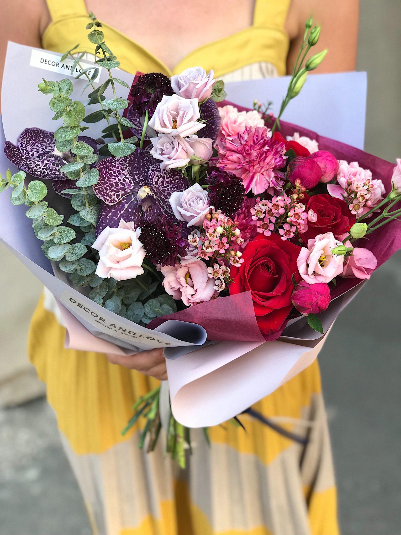 Букет, цветы купить в томске