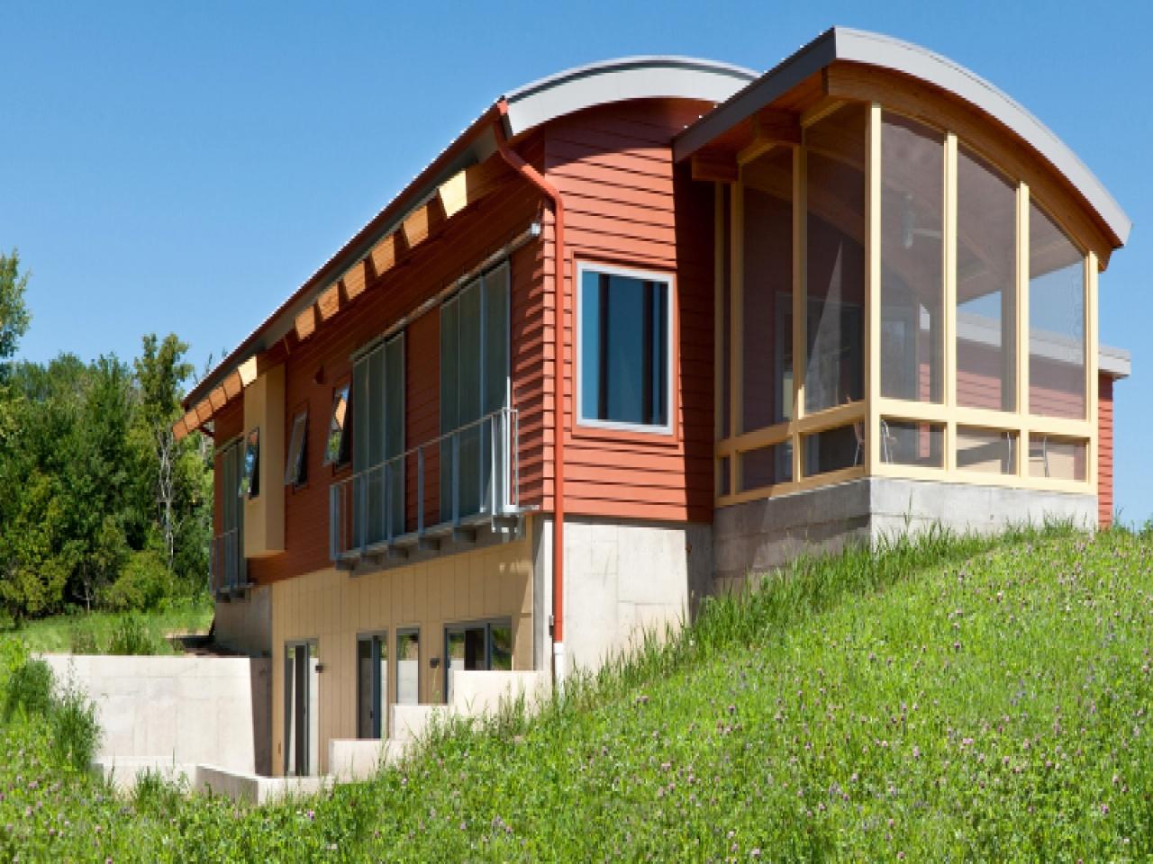 экологически чистые дома за рубежом