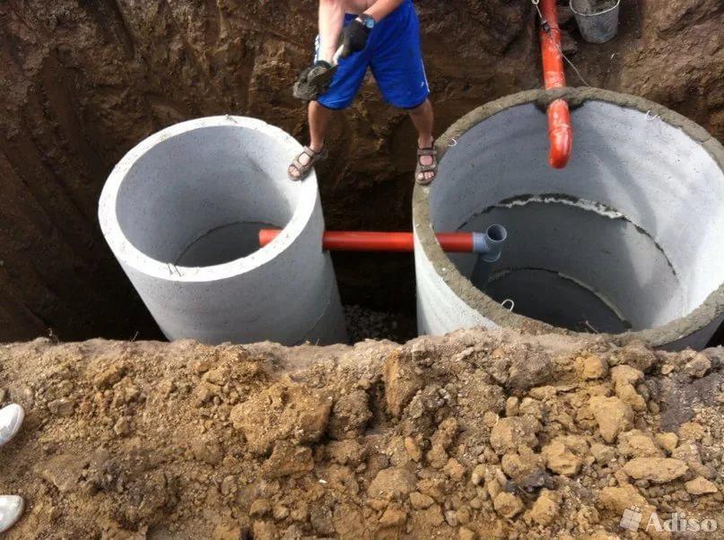 выкопать канализацию в частном доме цена