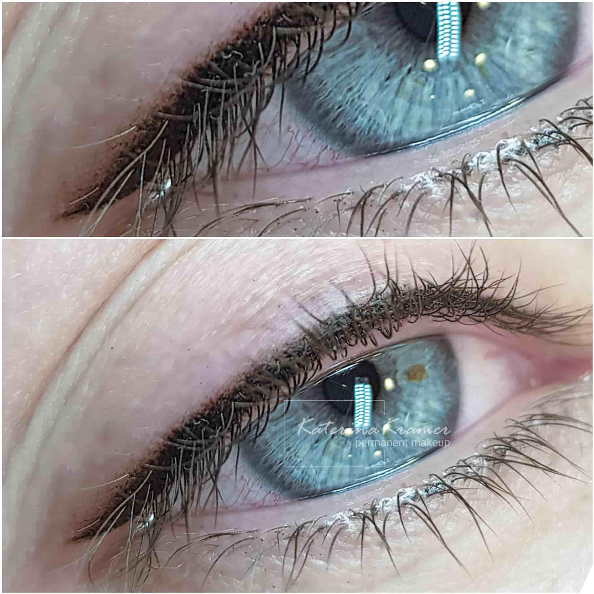 Межресничный татуаж глаз ❤️ KRAMER PMU STUDIO