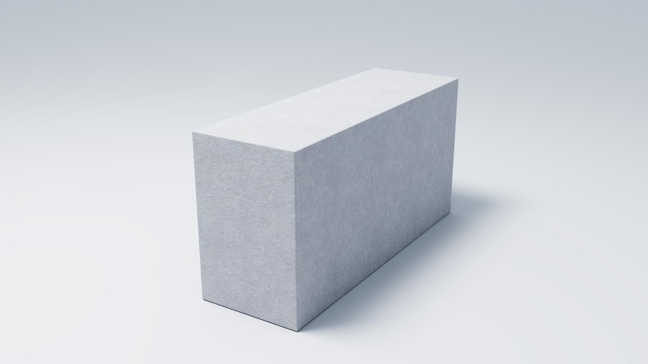 Газобетонный блок  D500
