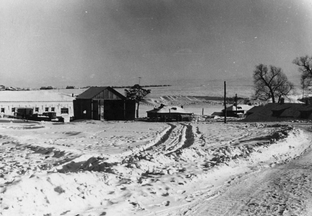 Дубровицы. Поповка. 1950-ые. Фото из архива Дарьи Грин /pastvu.com