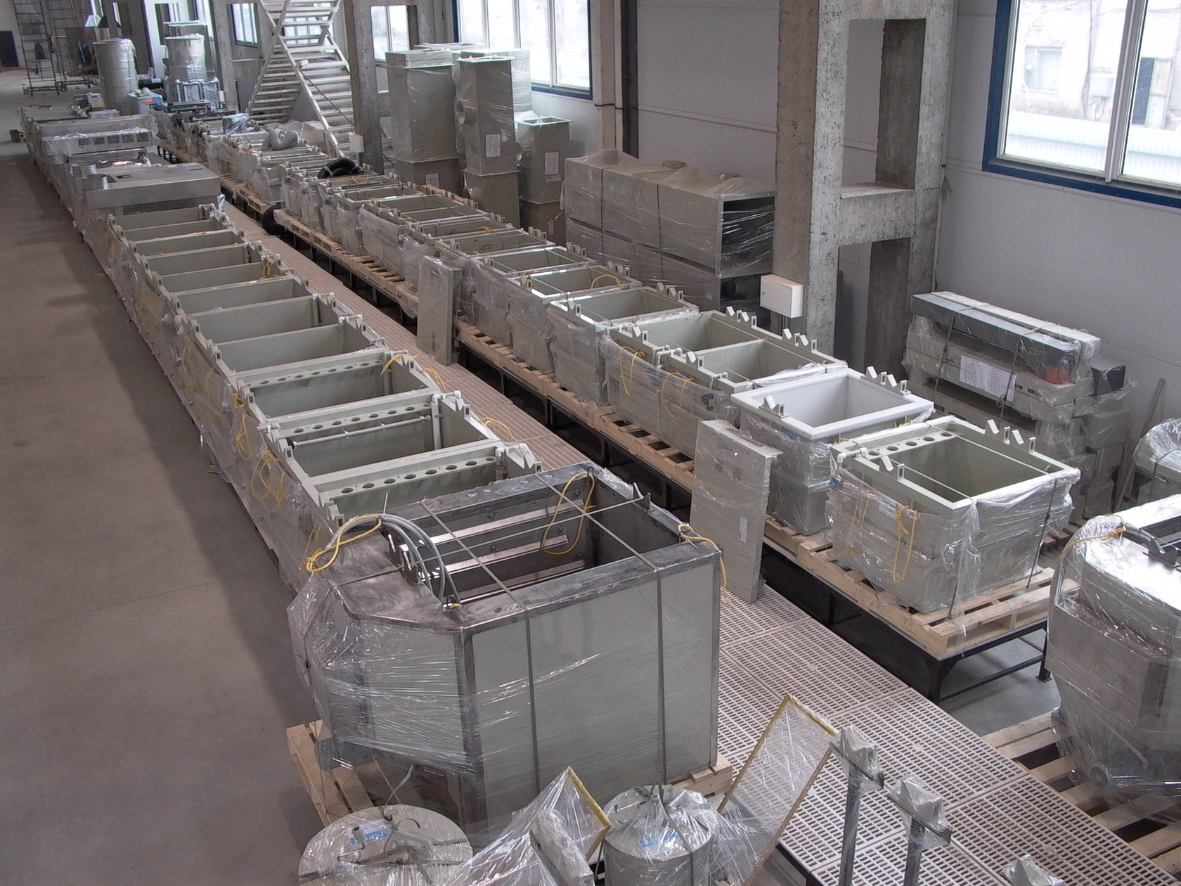 Electroplating baths